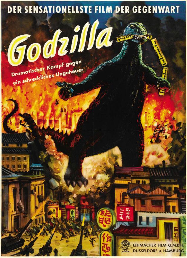 Godzilla rare awesome posterts oldskull 3