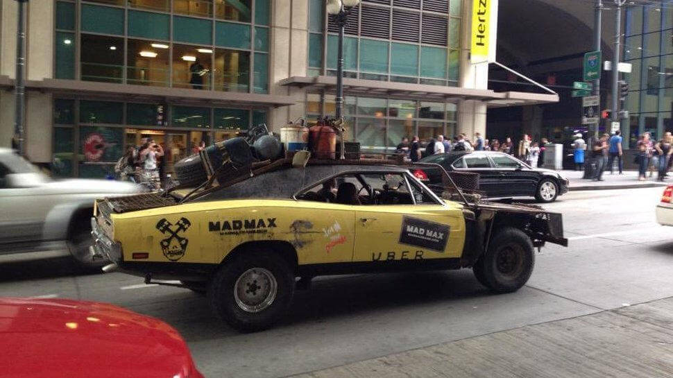 Mad Max Uber Service in Seattle 3