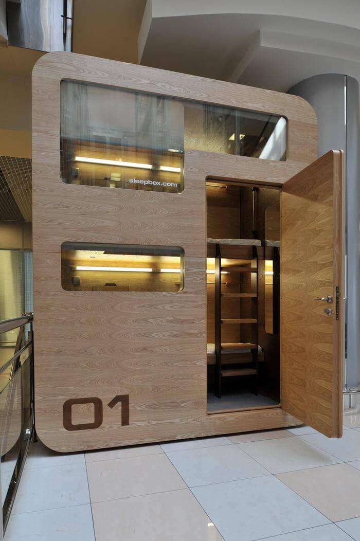 SLEEPBOX - A Unique Type of Accommodation Imagine -oldskull 1