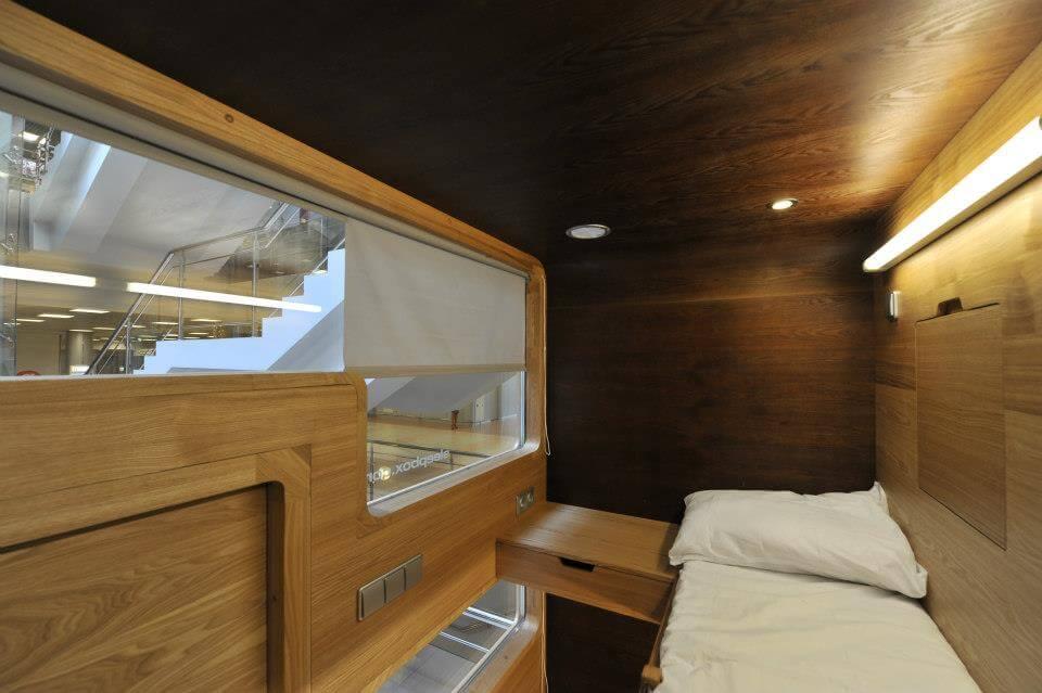 SLEEPBOX - A Unique Type of Accommodation Imagine - oldskull 6