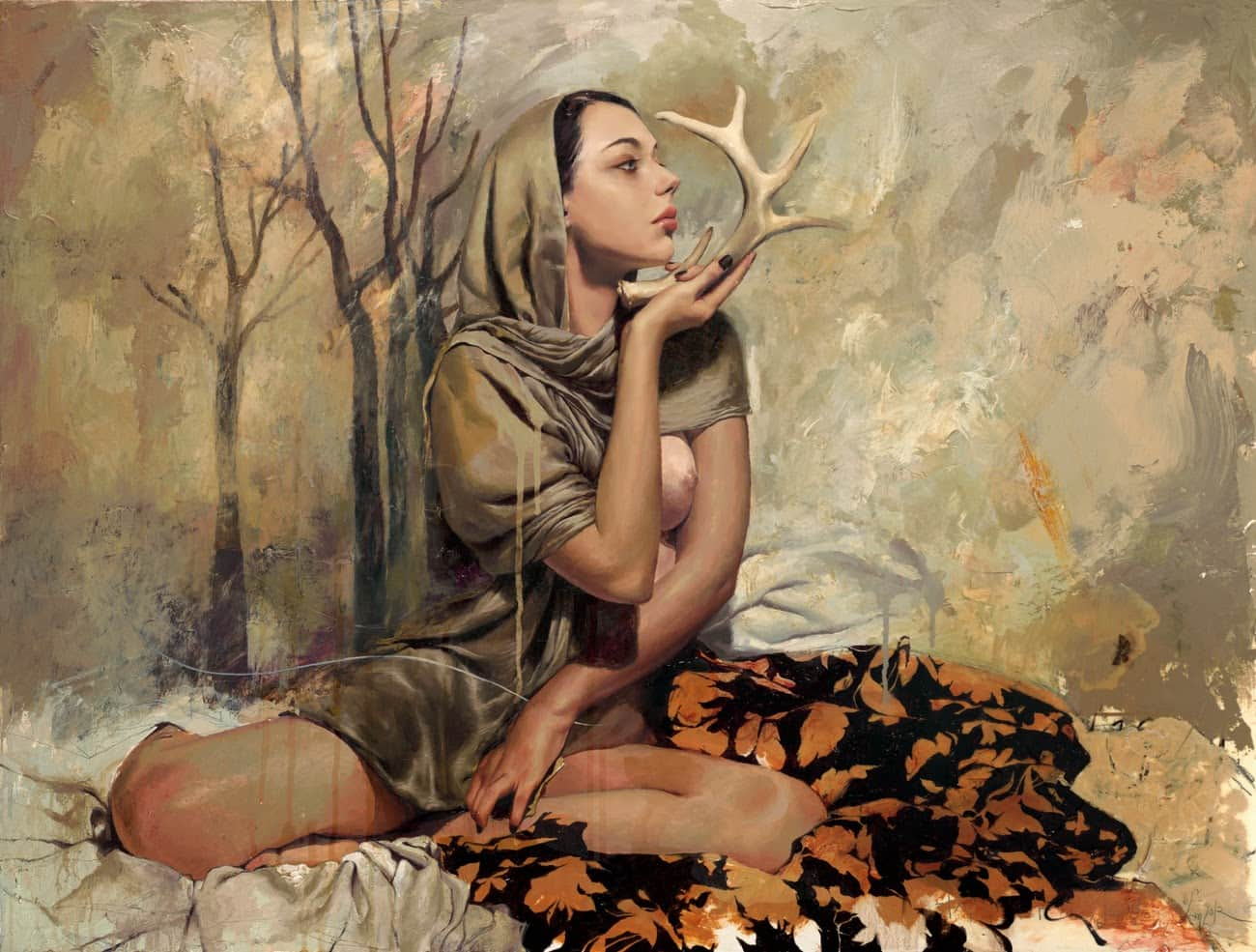 Woman illustration by Soey Milk