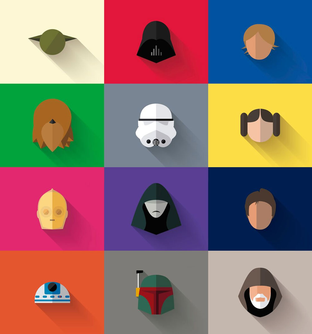 Star-wars-icons-flat