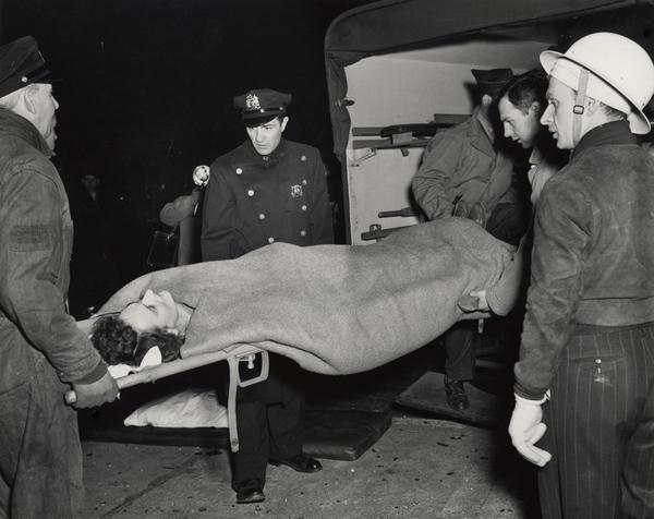 Ambulance, 1943-44.