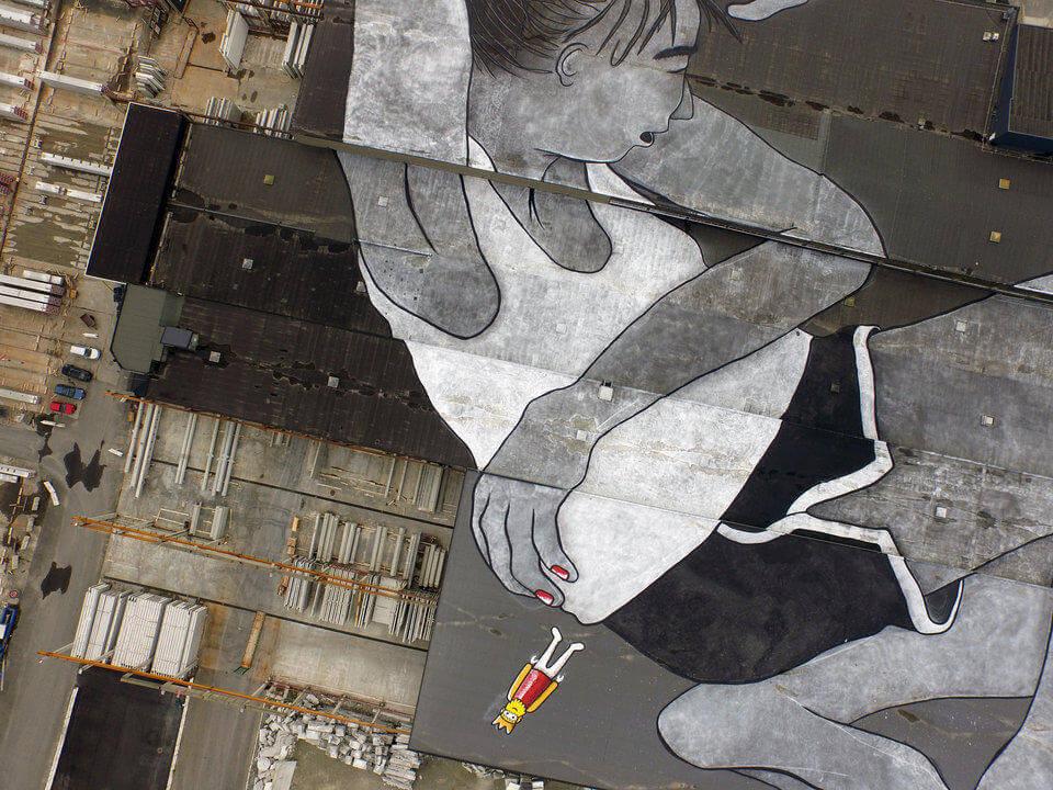 ella & pitr world largets mural 7