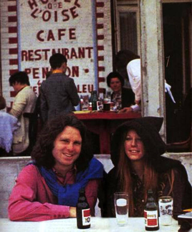 oldskull Last Known Photos of Jim Morrison in Paris on June 28, 1971(3)