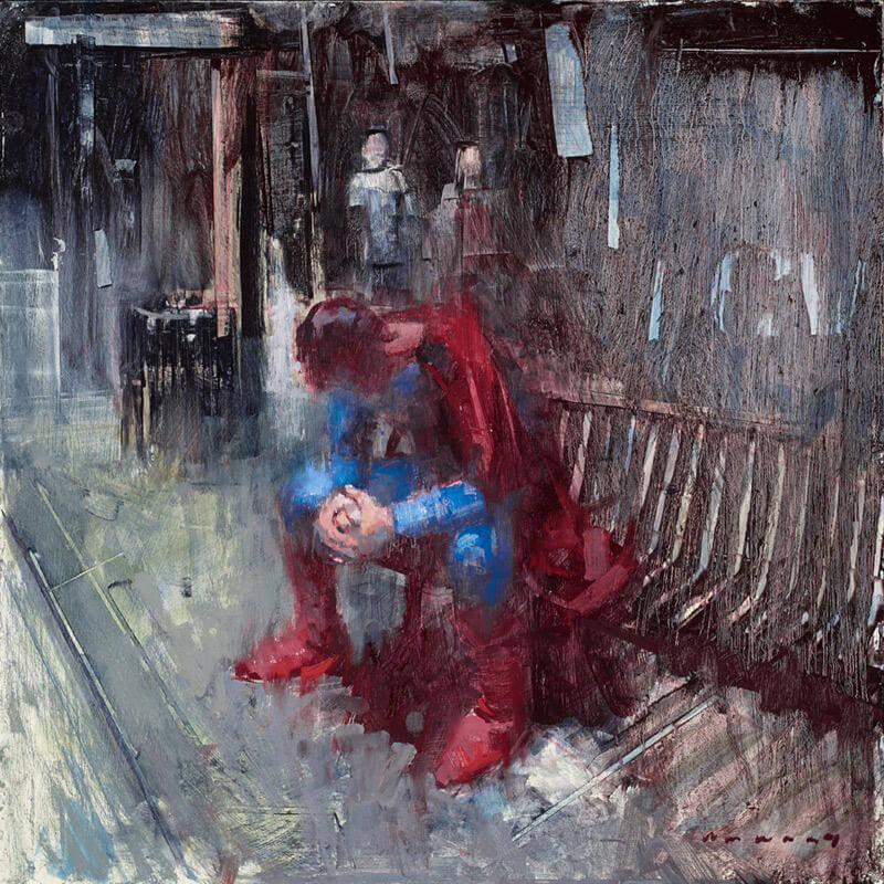 william wray paintings oldskull 1