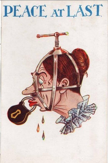 Propaganda Postcards Warn Men about the Dangers of Women's Rights from the Early 20th Century (13)