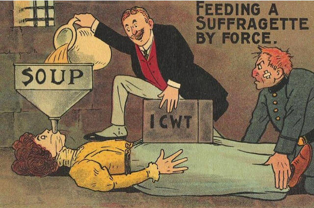 Propaganda Postcards Warn Men about the Dangers of Women's Rights from the Early 20th Century (4)