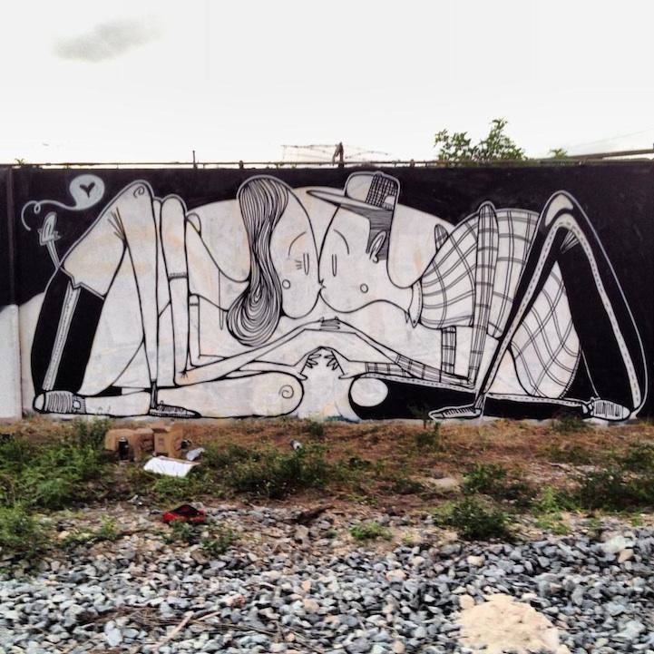 Street art bisous - 07