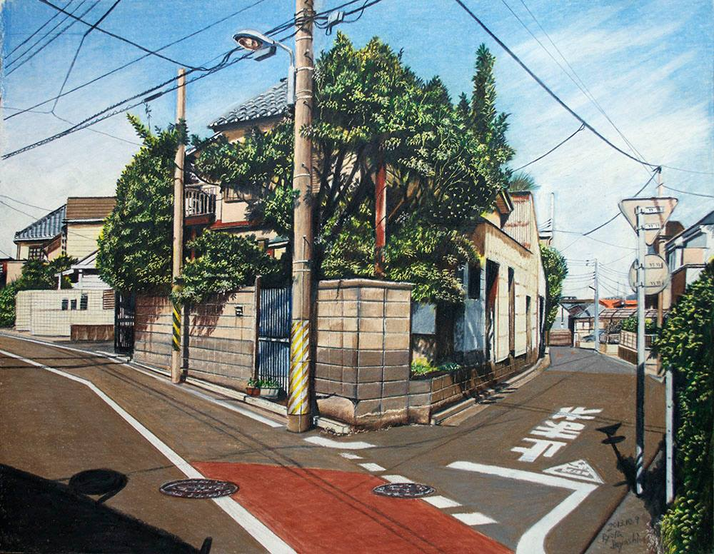 illustrations of tokyo by ryota 1