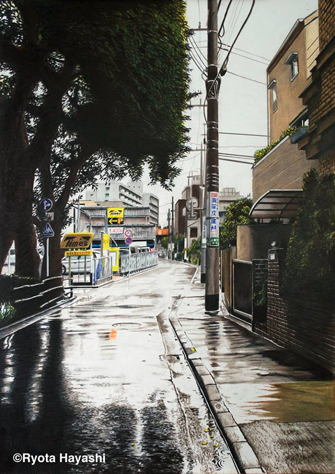 illustrations of tokyo by ryota 10-1