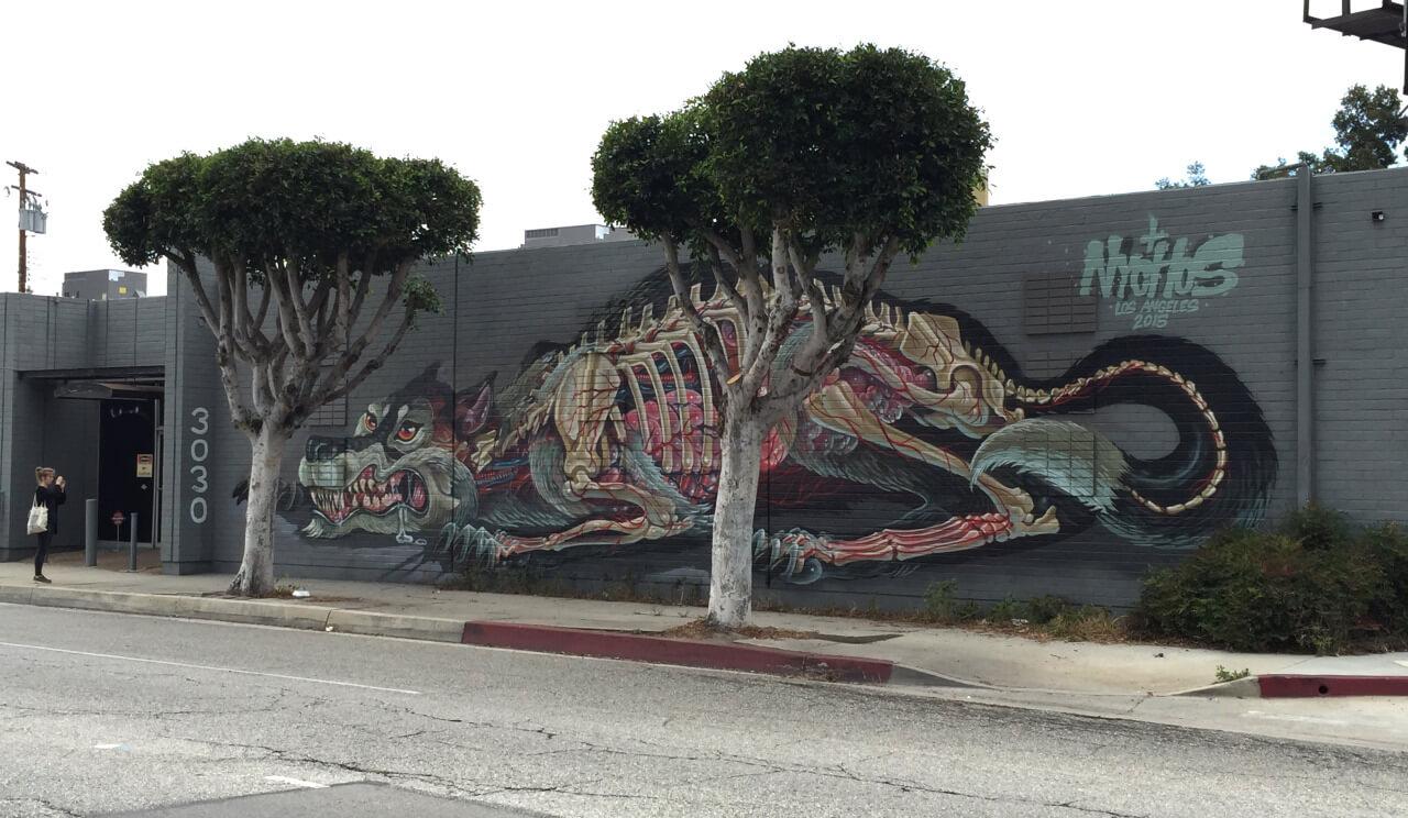 nychos street art illustration 3