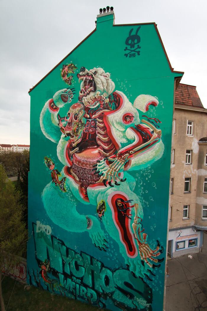 nychos street art illustration 5