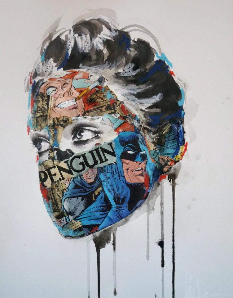 sandra chevrier comic painting oldskull 4