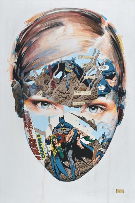 sandra chevrier comic painting oldskull 9