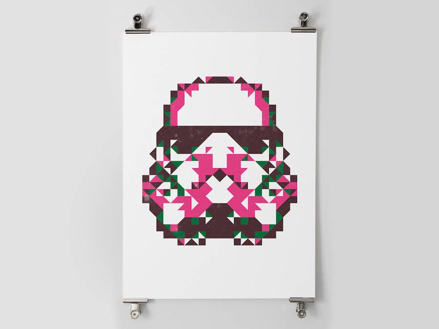star wars polygon posters 5