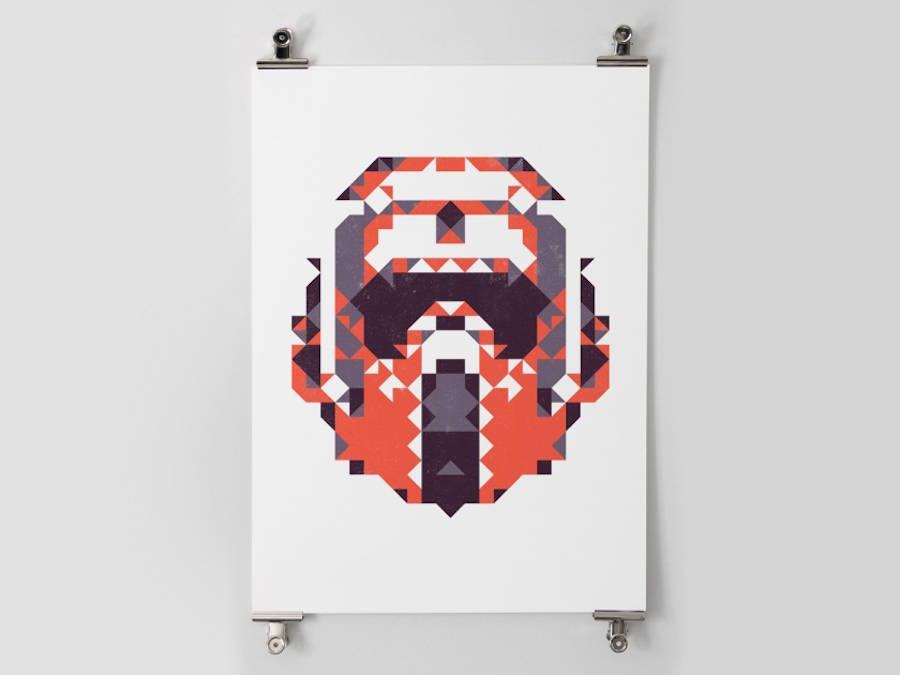 star wars polygon posters 7