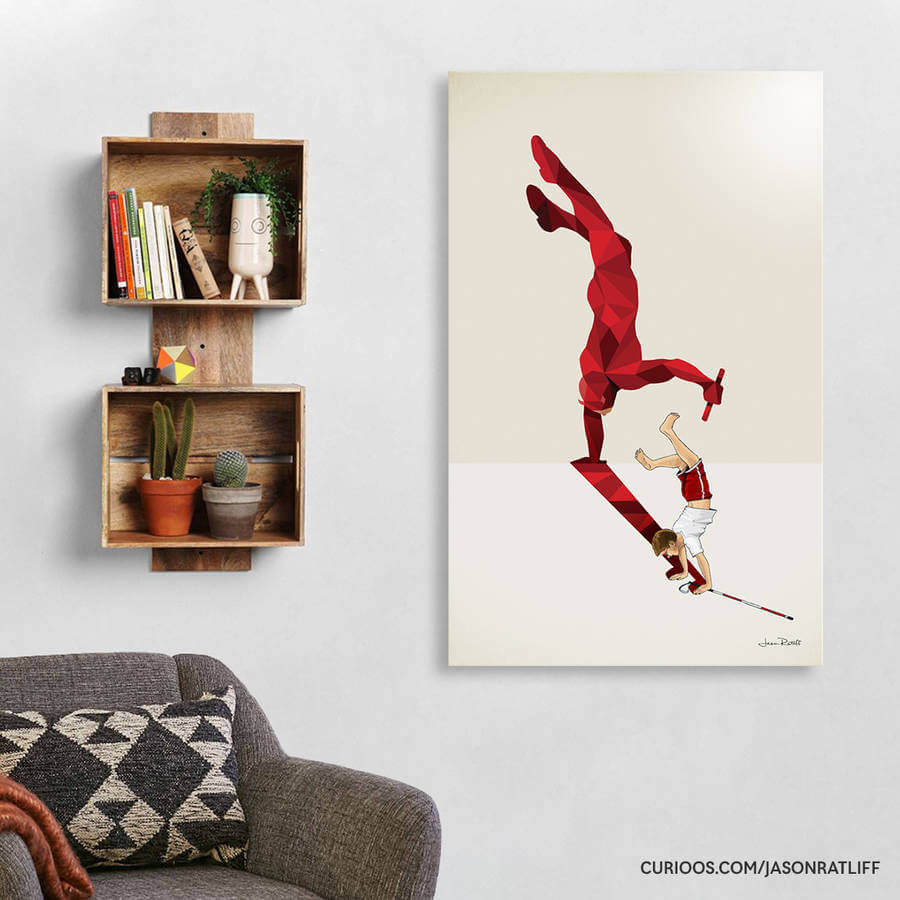 New Children's Superheroes Shadows Posters  (17)