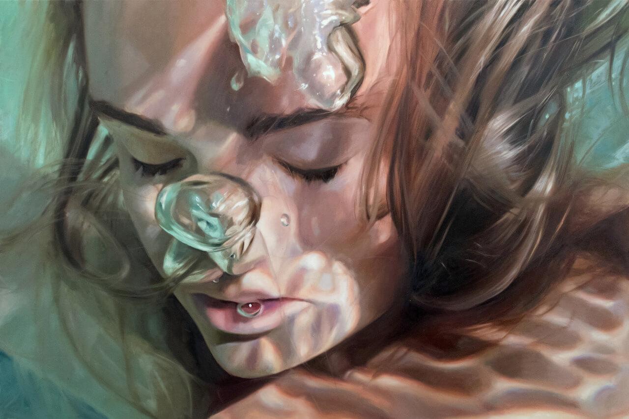 La increíble pintura de Reisha Perlmutter