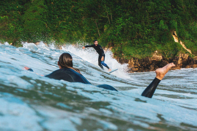 Surf camp en Portugal fotografiado por Daniel Espirito