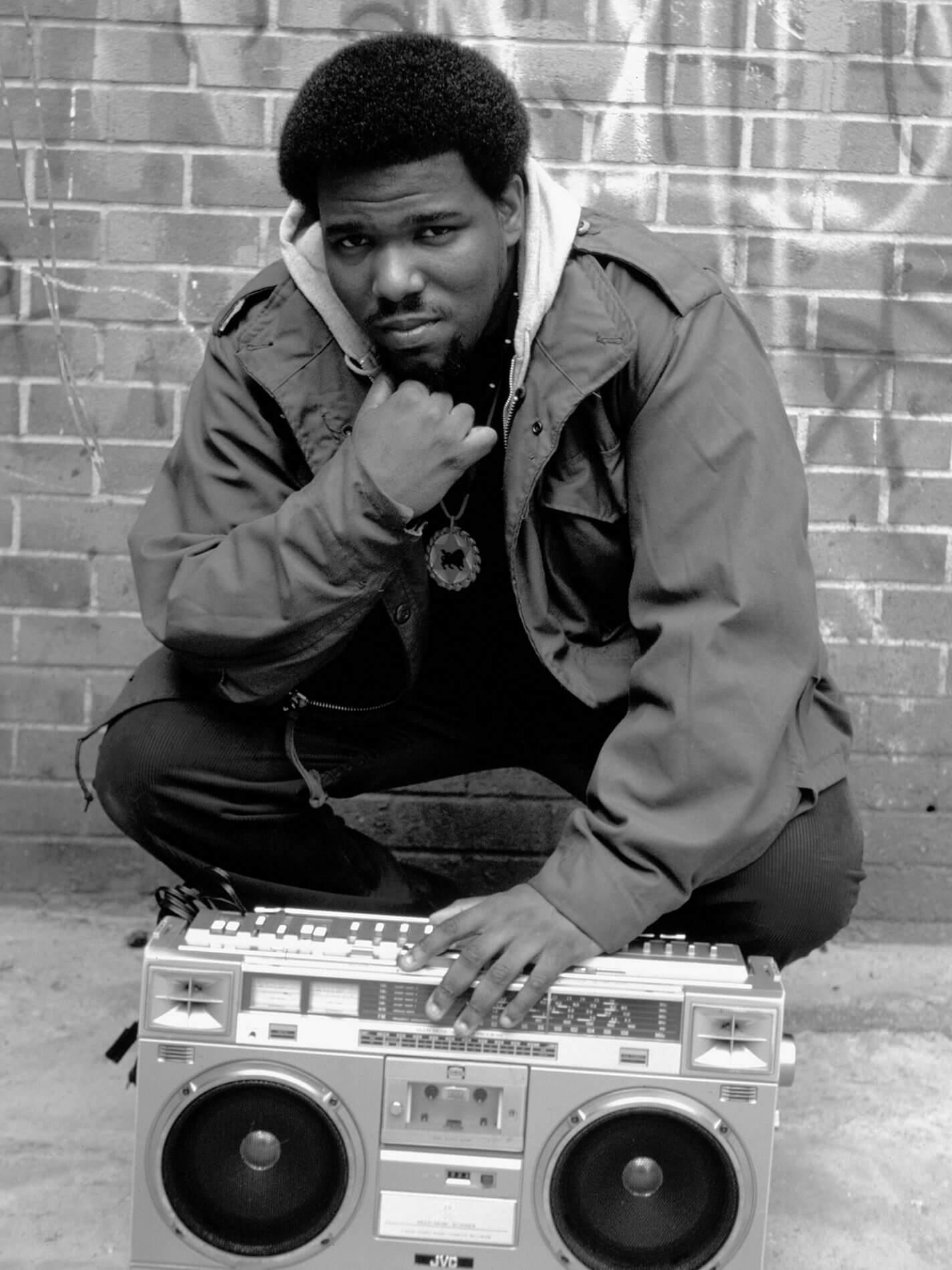 AFRIKA BAMBAATAA BRONX 1983 photography