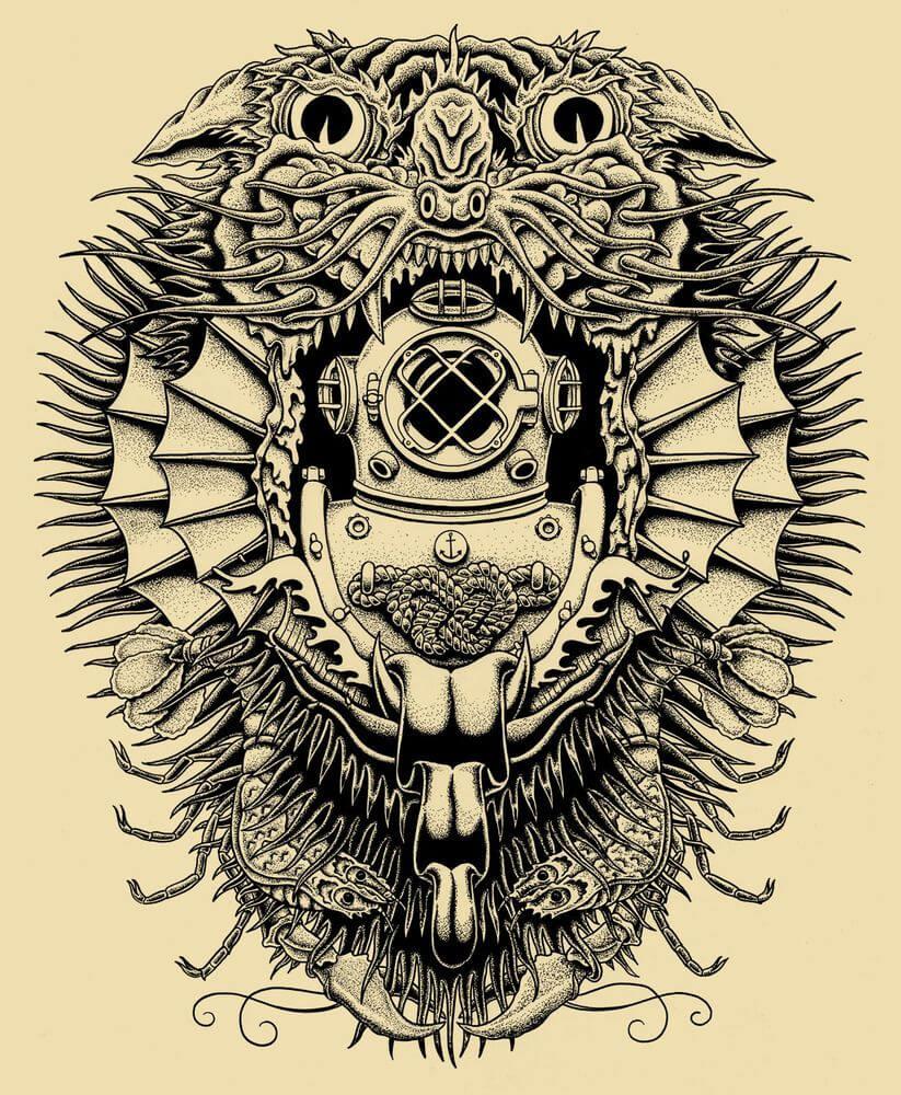 tatuaje arte mistico kyler martz