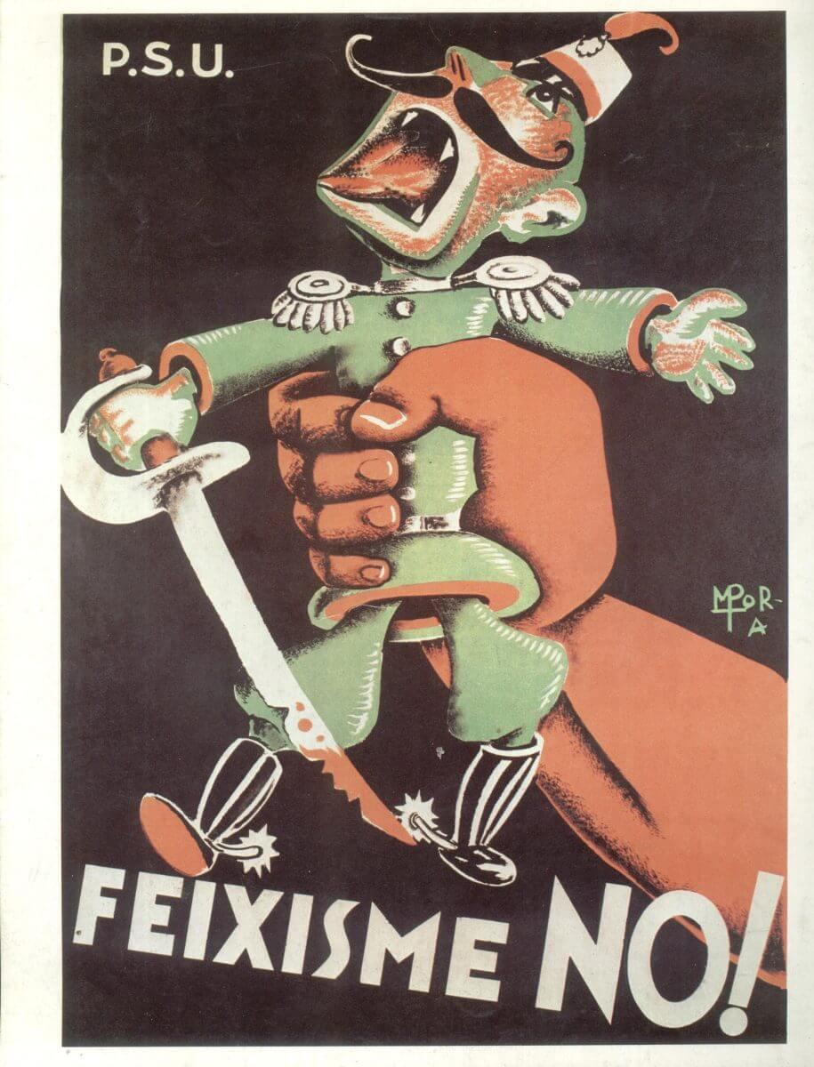 guerra civil humor no fascismo