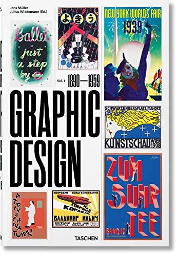 The History of Graphic Design. Vol. 1, 1890–1959 (Multilingual Edition)