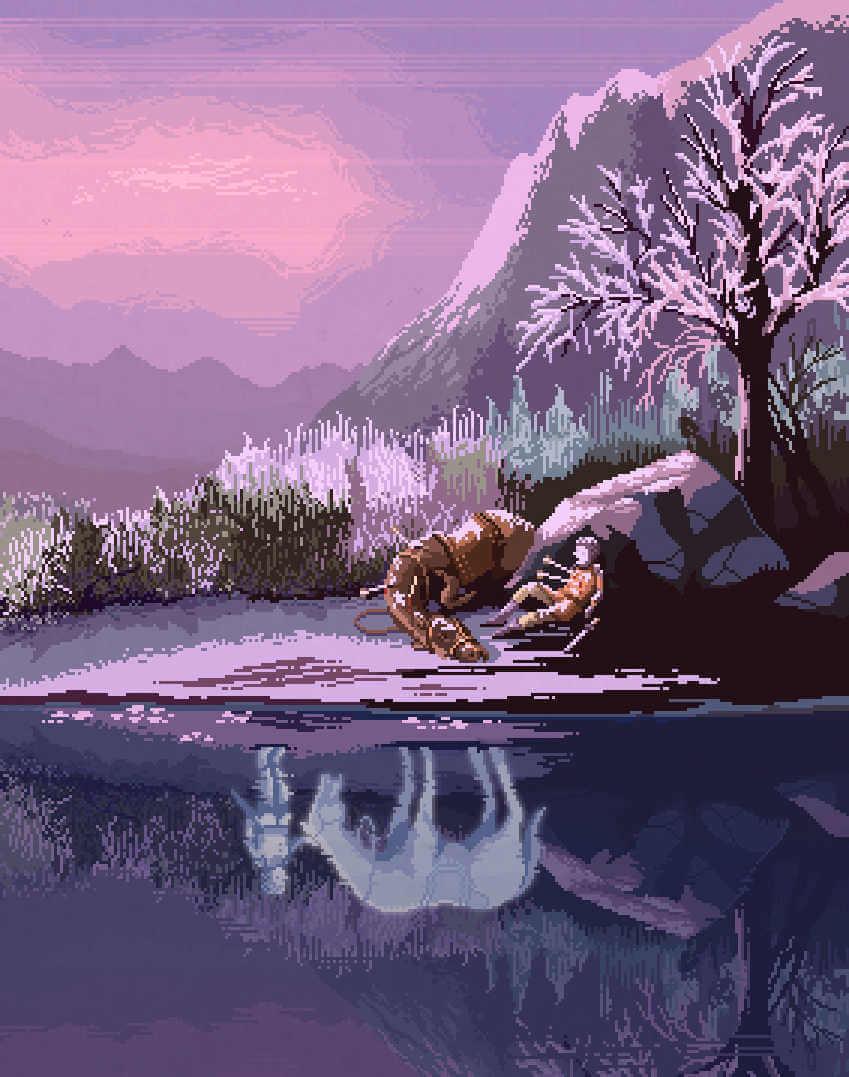 5 artistas del Pixel art creando espectaculares obras retro