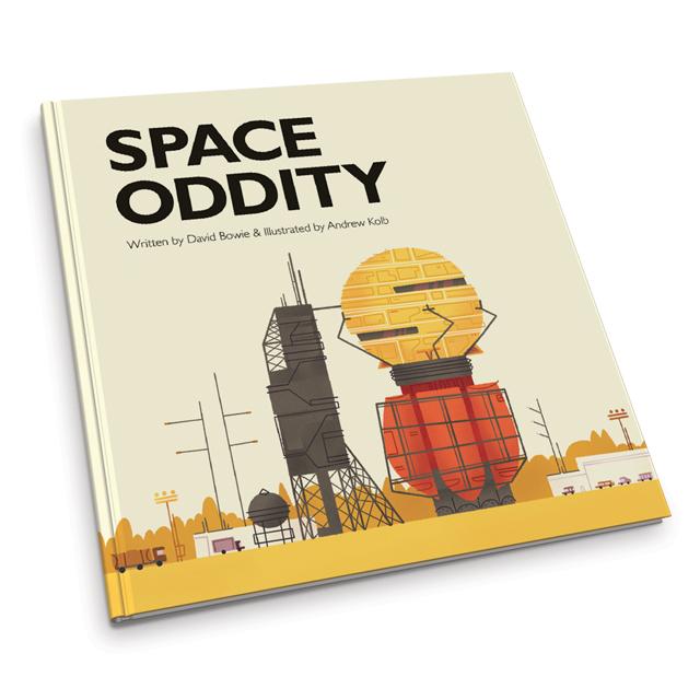 Space Oddity de David Bowie convertida en libro para niños